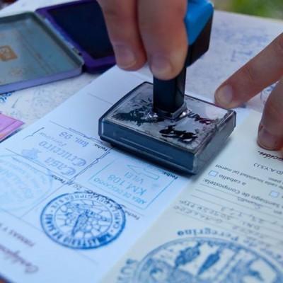 La crédencial, passeport du pélerin