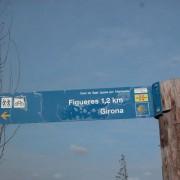 Le cami de Sant Jaume arrive à Figuères