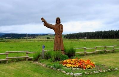 Du Puy en Velay à Nasbinals, pélerinage sur le chemin de compostelle