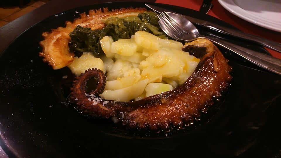 """Le """"pulpo"""" fait partie intégrante de la gastronomie galicienne"""